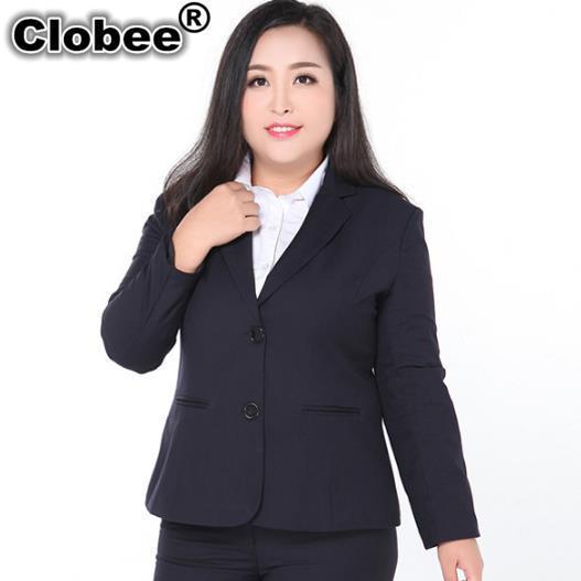 53fb3b085ff Clobee Women Blazers Spring Women Thin Slim Blazer Coat 2018 Ladies Official  Long Sleeve Jackets Suit For Plus Size Women M276