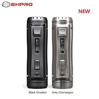 New 120W Ehpro Cold Steel 100 TC Box MOD Power by 18650 / 20700 / 21700 Battery Metal E cig Vape Mod with 0.0018S Firing Speed