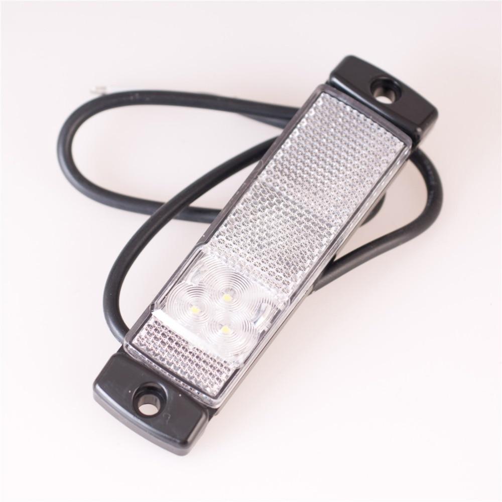 2PCS 12V / 24V Auto Styling Camion Remorcă Ofr LED Bar de lumină - Faruri auto - Fotografie 1