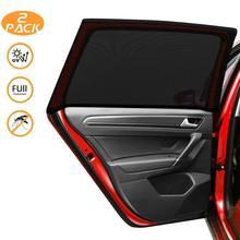 2 Pack SUV MPV Universal Car Rear Side Window Sun Shades UV Protection Sunshade Anti-mosquito Net Mesh Car Curtain датчик delphi 2808 6011 mpv suv