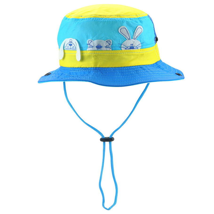 ffb9b8bfcba Sun Hat Kids Bucket Hat Quick Dry Summer Fishing Cartoon Cap Boy Girl  Panama Children Hat Animal Beach hat Outdoor Fisherman-in Bucket Hats from  Men s ...
