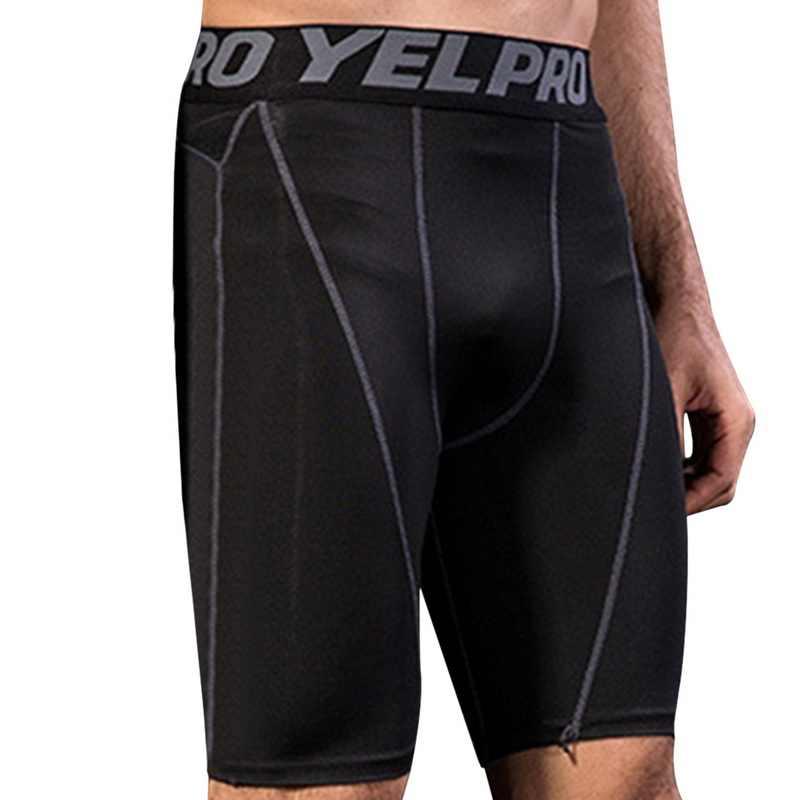 MoneRffi 2019 szybkie pranie elastyczne siłownie Fitness krótkie męskie mocno kompresji krótkie bermudy kamuflaż krótkie spodnie Slim odzież sportowa