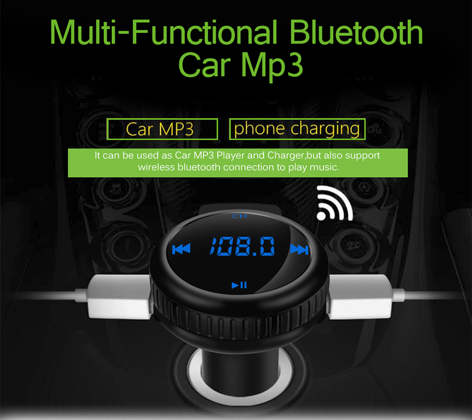 fm transmitter bluetooth car 6
