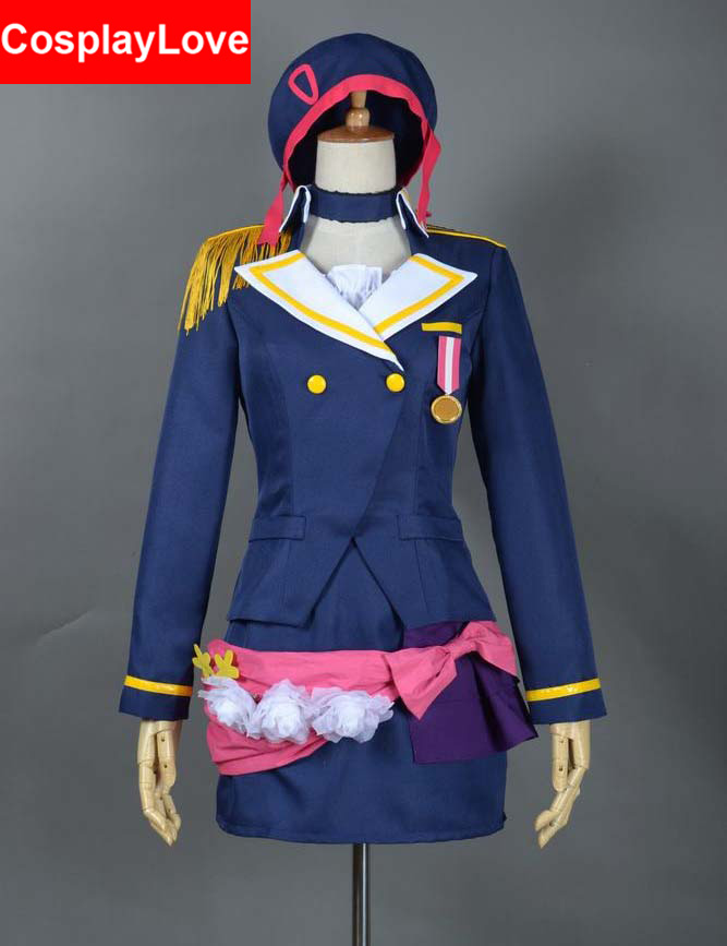Custom-made Love Live! School Idol Project Shocking Party A-RISE Tsubasa Kira Cosplay Costume For Halloween Christmas
