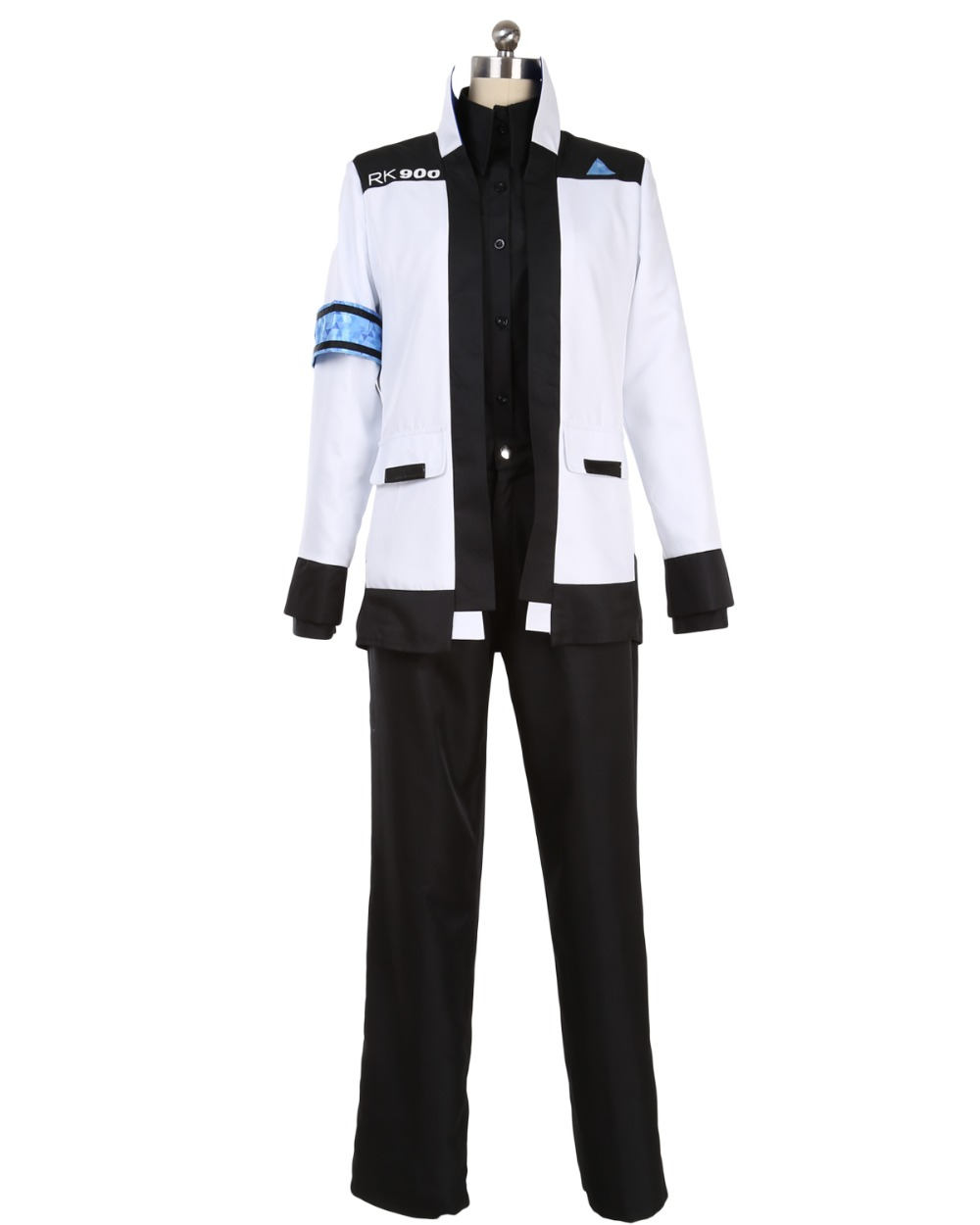 Detroit Become Human Connor RK900 Cosplay Costume Custom Made For Halloween