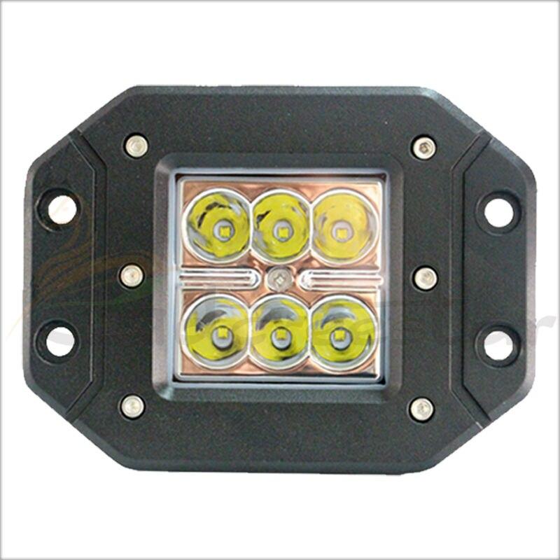 4x 4 Inch Pods 18W Spot LED Work Light 12V 24V 4WD Offroad Truck