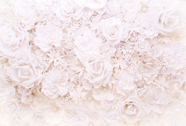 Laeacco Pure Blooming Flowers Wall Scene Photography Backgrounds Custom Camera Photographic Backdrops For Photo Studio