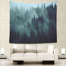Beautiful Night Sky Wall Tapestry Home Decorations Hanging Forest Starry Decor Curtains Bedroom Blanket Table Cover Yoga Mat sugar skull night durable wall hanging beautiful forest starry sky natural scenery pattern tapestry bedroom home decor art