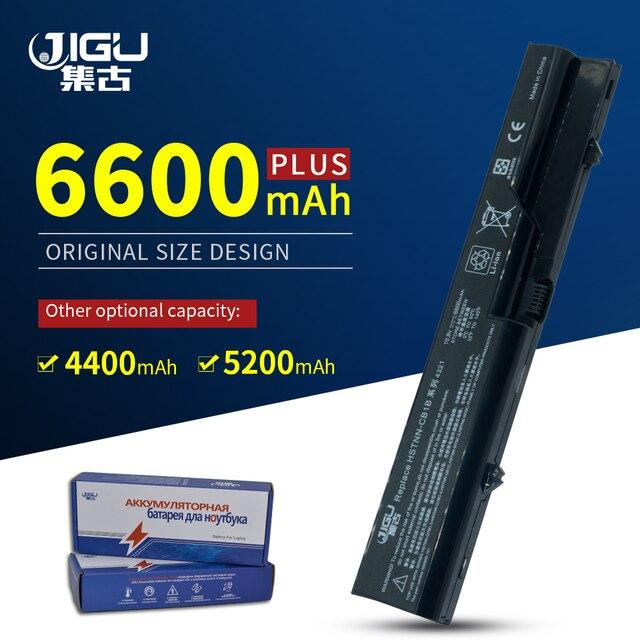 JIGU محمول بطارية لجهاز HP كومباك 320 321 325 326 420 421 620 587706 751 587706 761 593572 001 PH06 BQ350AA HSTNN UB1A