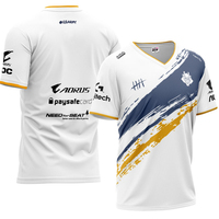 Customize Game LOL/CSGO/COD Team G2 Esport Gaming suit 1:1 High Quality 2019 Team G2 Esport short sleeved T shirt jersey Tops