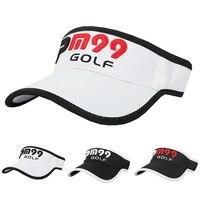 Golf Visor Golf Hut Caps Professionelle baumwolle golf ball Visier Männer Frauen Baseball Visor Sommer Schutz