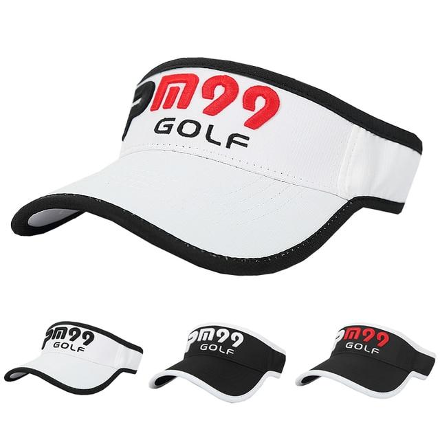 Golf Visor Golf Hat Caps Professional cotton golf ball Visor Men Women  Baseball Visor Summer Protection a014fd4923c6