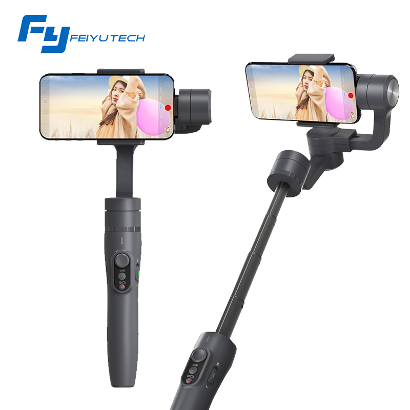 Feiyu tech Vimble 2 Extendable Handheld 3-Axis Gimbal Stabilizer for Smartphone Phone PK DJI Osmo mobile 2 zhiyun smooth 4 Q feiyu vimble c 3 axis handheld gimbal portable smartphone stabilizer for i phone 6 7 vertical shooting pk zhiyun smooth q