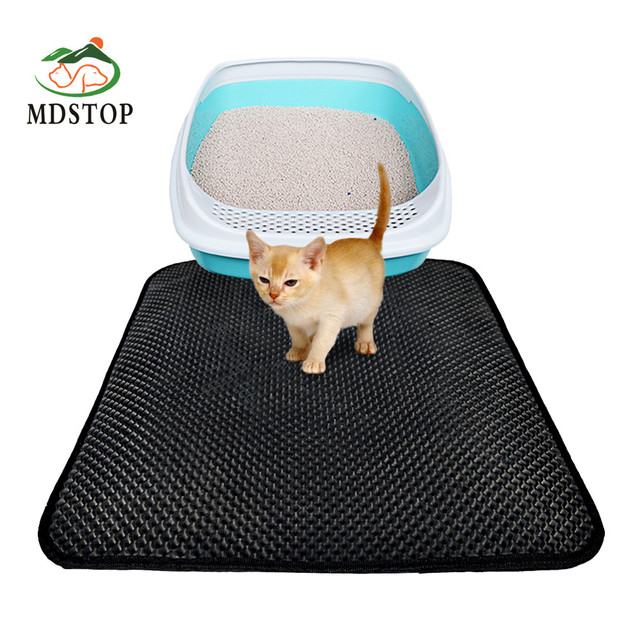 Cat Litter Trer Mat Folding Waterproof Honeycomb Sifting Pad Protect Floor And Carpet Eco Friendly Light Weight Eva Foam