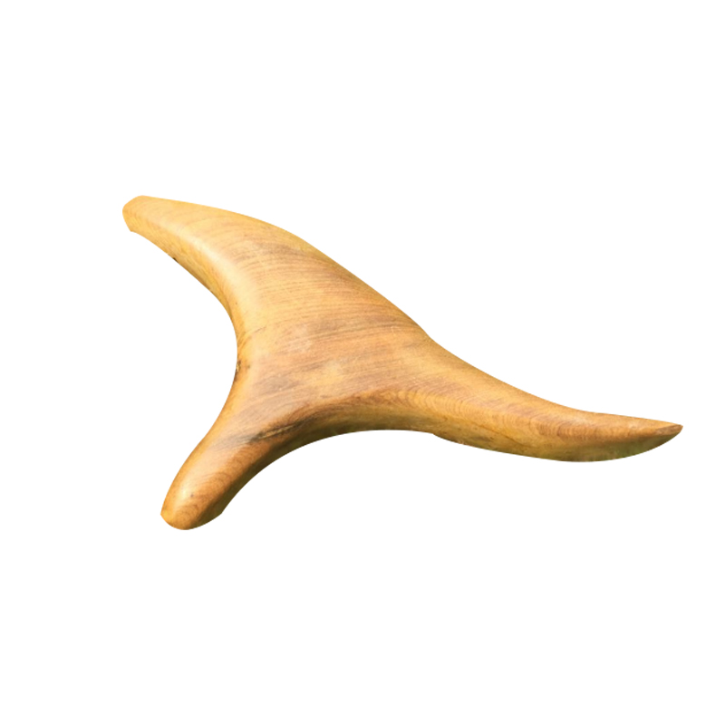 Acupuncture Massage Rod Acupuncture Point Rod Foot Massage Tool Camphor Wood Triangle Bird Foot Massage Device