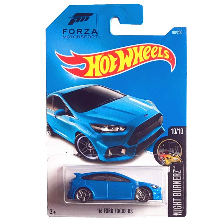 Hot Wheels 1/64 Car 16 FORD FOCUS RS Metal Diecast Cars Collection Kids Toys Vehicle For Gift