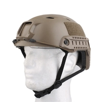Hot Black Brown Military Tactical FAST Helmet Goggle Safety Protector Outdoor Hunting Airsoft Paintball Crashproof Helmet