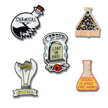 Science fantatic chemical pins ювелирных изделий экспериментальная