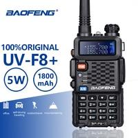 Baofeng BF F8+ Upgrade New Walkie Talkie Police Two Way Radio Pofung F8+ 5W UHF VHF Dual Band Outdoor Long Range Ham Transceiver