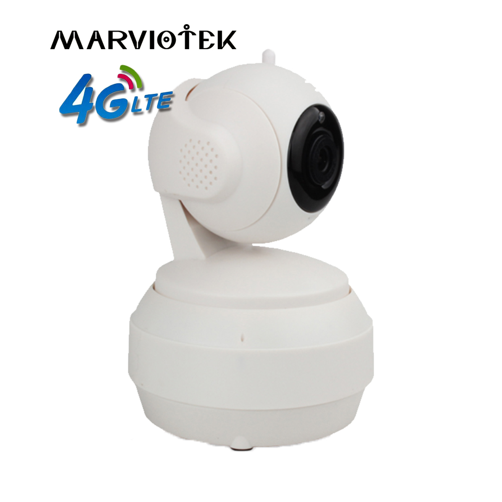720P Wireless IP Camera wi-fi alarm 4G LTE IP camera sim card 360 degree Pan Tilt cctv camera 960P build-in battery option