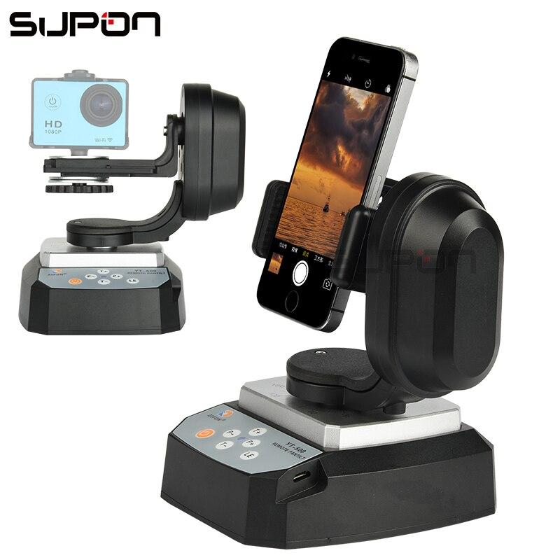SUPON YT-500 Smart Aller Pro Panoramique PTZ Avec Sans Fil télécommande Pan Titre Pour Téléphone appareil photo REFLEX Web Retransmission Sur Le Web