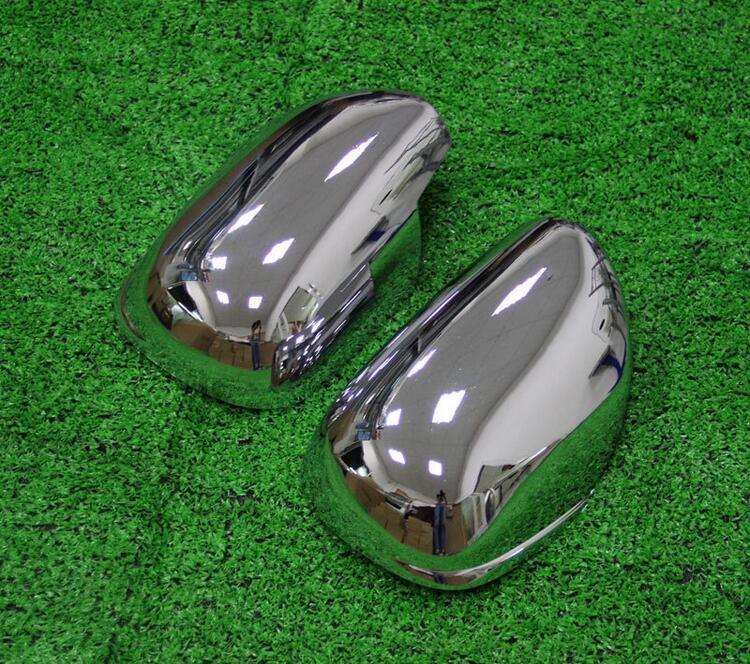 Haute qualité! couverture de miroir latéral en Chrome ABS/couverture de miroir/miroir de voiture pour Toyota PRADO FJ120 2003-2009