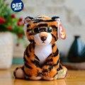 6 ''ty beanie боос плюшевые животных серии детские милый маленький тигр плюшевые игрушки подарок мини мягкие игрушки