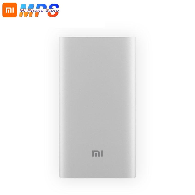 Original Xiaomi Power Bank 5000mAh Mi Portable Charger Slim Powerbank 5000 for  Mobile Phones