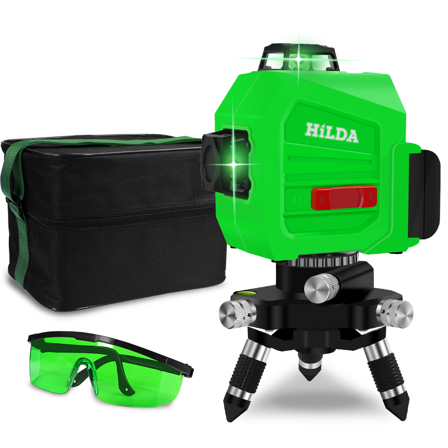 12 Lines 3D 360 Horizontal And Vertical Cross Super Powerful Green Laser Beam Line Level Self-Leveling12 Lines 3D 360 Horizontal And Vertical Cross Super Powerful Green Laser Beam Line Level Self-Leveling