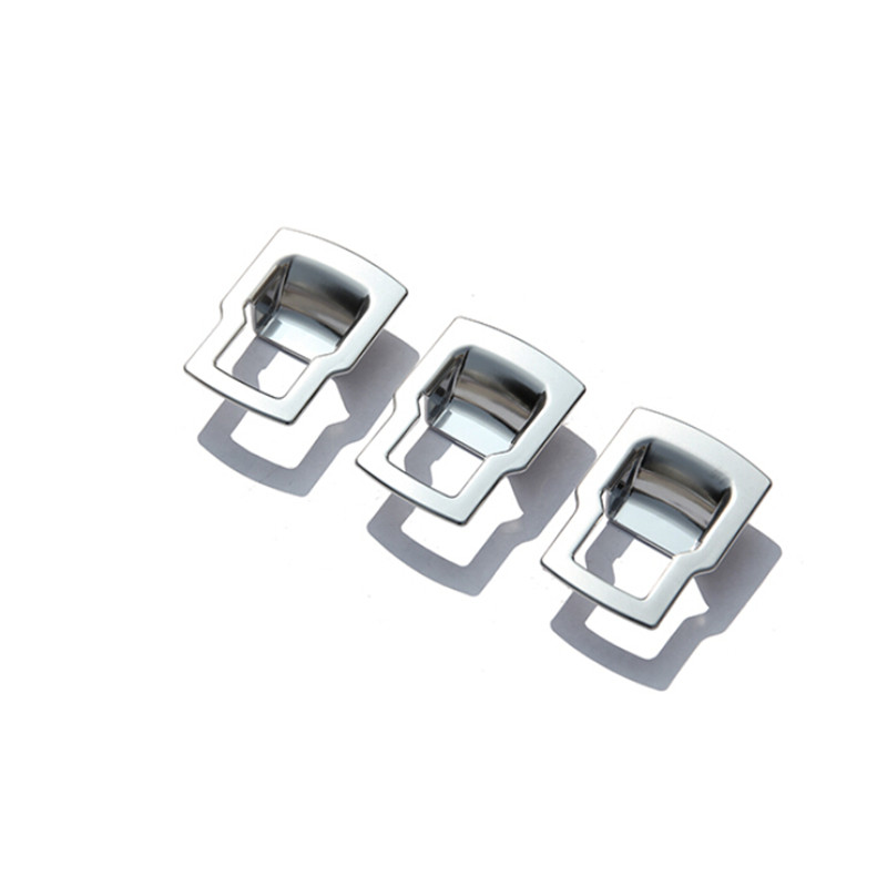 Car Styling!3pcs ABS Inner Car Seat Adjustment Button