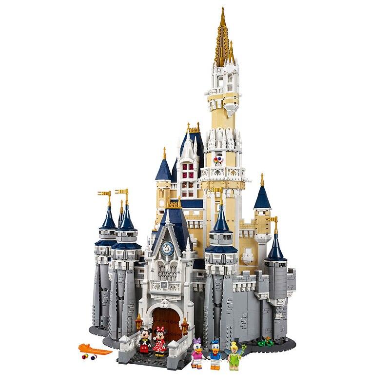 4080 pièces Filles Ville Cendrillon Princesse modèle de château blocs de construction Compatible legoings 71040 16008 Briques Jouets pour Enfants Cadeaux
