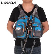 Lixada Outdoor Fishing Vest Sailing Life Jacket Vest EPE foam Floating kayak Outdoor Sport Life Safety Jacket Swimming Pesca(China)