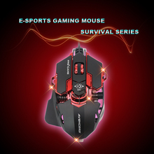 Usb Gaming Mouse Souris For Computer Laptop Maus Gamer Game Muis Wired Mice Filaire Ergonomic Rgb Myszka Raton Ordenador