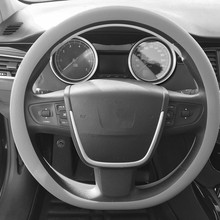 Автомобильный Стайлинг, чехол на руль, автомобильные аксессуары для Great Wall Florid Hover H6 Voleex C50 C20R C30 lifan x60, автомобильные аксессуары