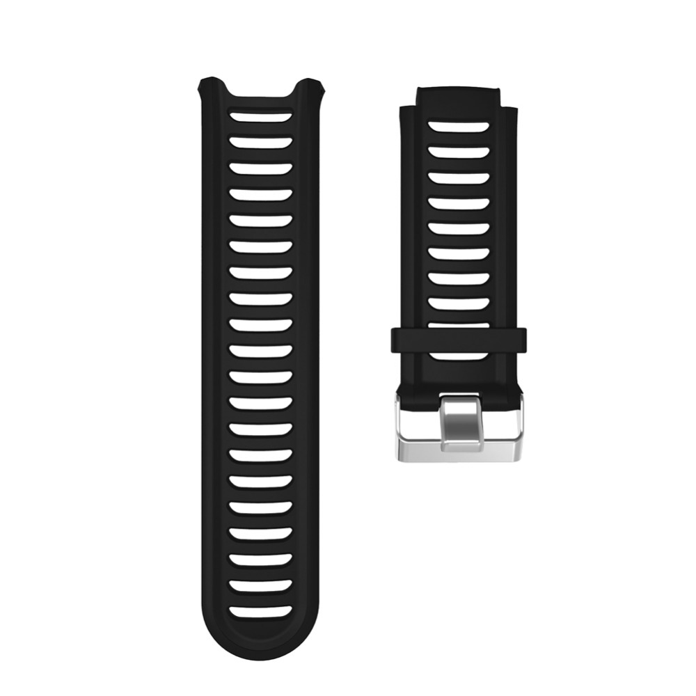 Silicone Rubber Strap for Garmin Forerunner 910XT GPS Triathlon Watch Band for Running Swim Sports Watch Bands Accessories
