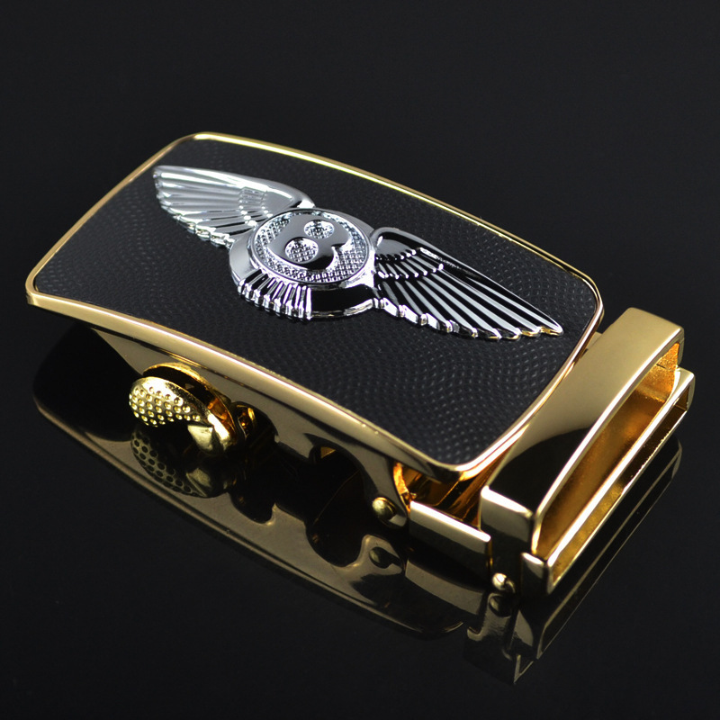 Silver Eagle Wing Automatically Buckle Noble Generous Belt Buckle Belt Buckle LY125-0272 Belt Buckle