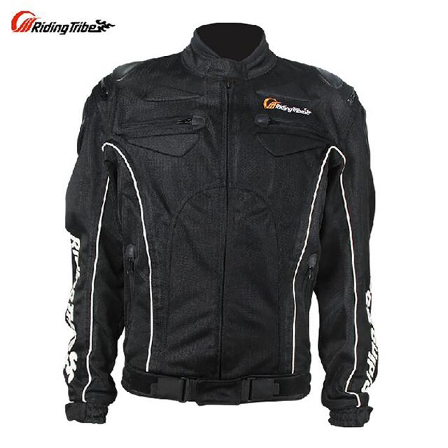 Chaqueta de la motocicleta anti-ultravioleta respirable más tamaño moto chaqueta de protección de equitación jaquet verano full body armor protector jk08