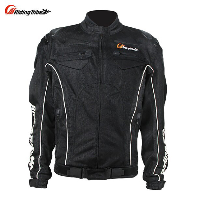 Motorcycle Jacket Anti-UV Breathable Plus Size Moto Jaquet Protection Riding Chaqueta Summer Full body armor JK08 Protective