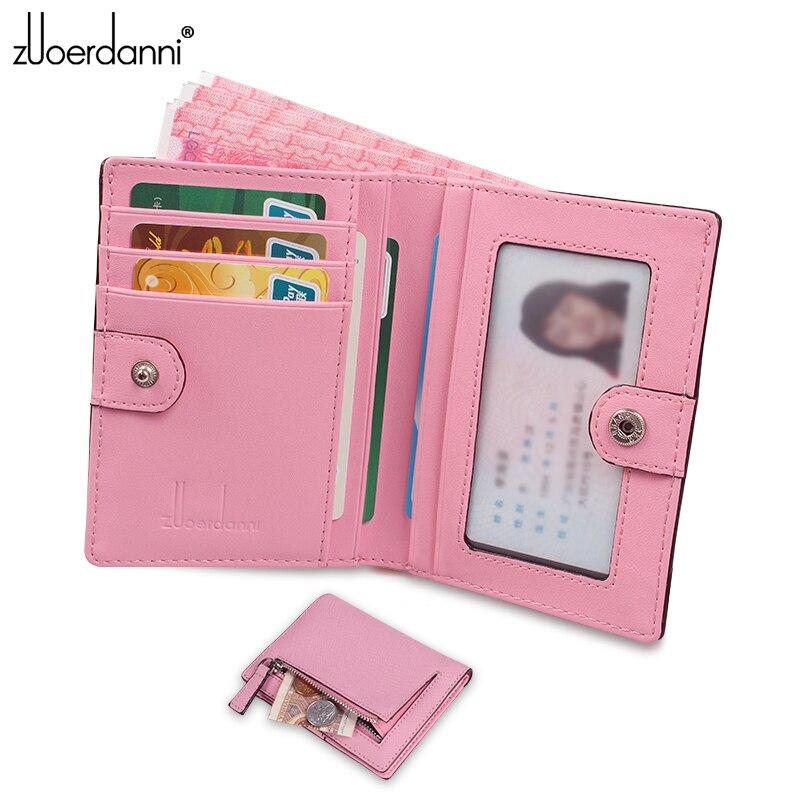 d416aa21d59d8 Nowy Mini portfel kobiet slim Torebka Lady Coin portfele skórzane Damskie  Krótkie Torebka A370