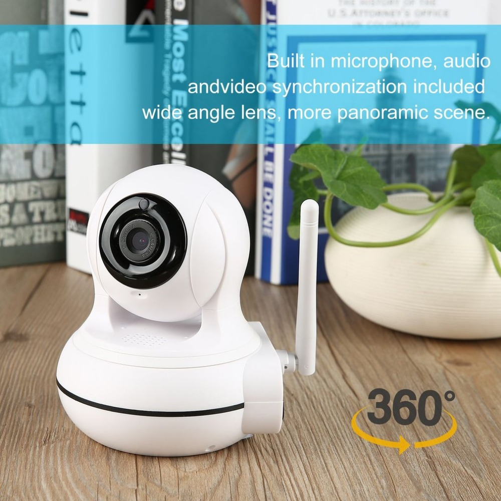 Wifi IP Camera HD 720P Wireless 1MP Smart CCTV Security Camera P2P Network Baby Monitor Home Protection Panoramic Cam