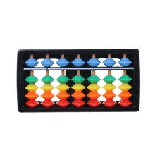 Colorful Abacus Arithmetic Soroban Maths Calculating Tools Educational Toy цены