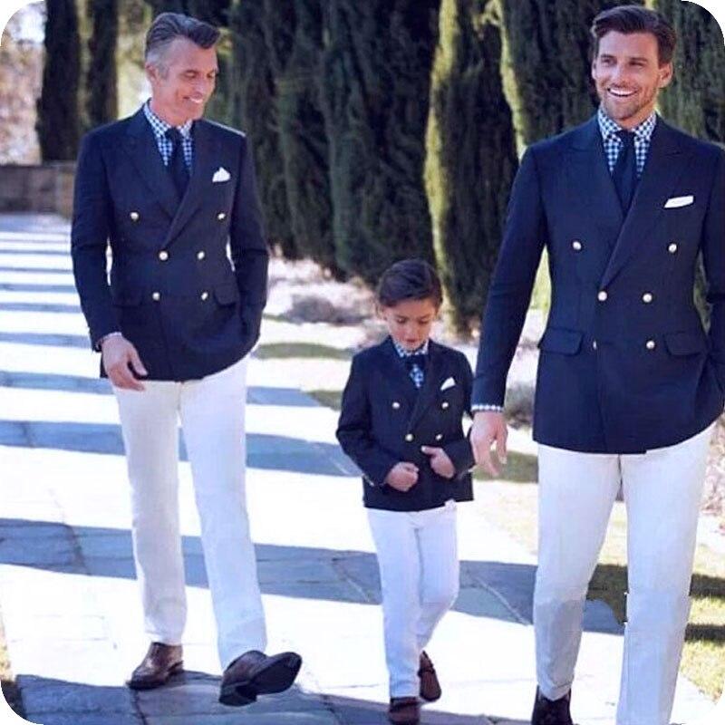 New Brand Tuxedo 2019 Fashionable Groom Tuxedos Burgundy Paisley White Pants Shawl Lapel Blazer Best Man Suits Wedding Suit