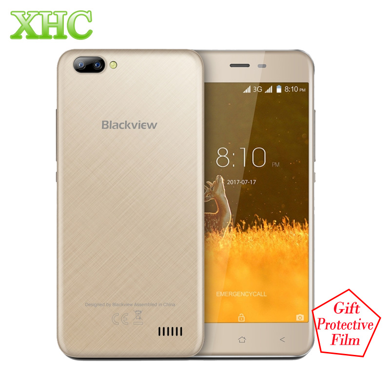 Blackview A7 WCDMA 3G Smartphones 5 0 Android 7 0 Dual Back Cameras RAM 1GB ROM