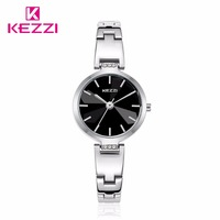 Watche Women KEZZI Luxury Brand Fashion Casual Sports Women Quartz Gold Watch Full Stainless Lady Reloj