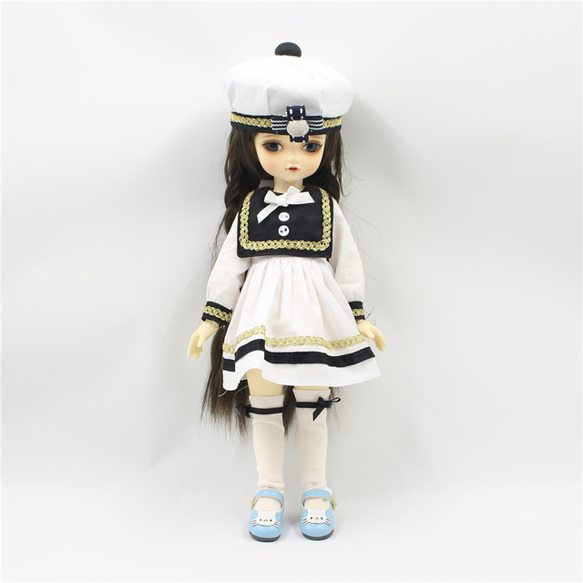 Clothes for 1/4 BJD Sailor outfit suitable for bjd body no for ICY and blyht fashion gift