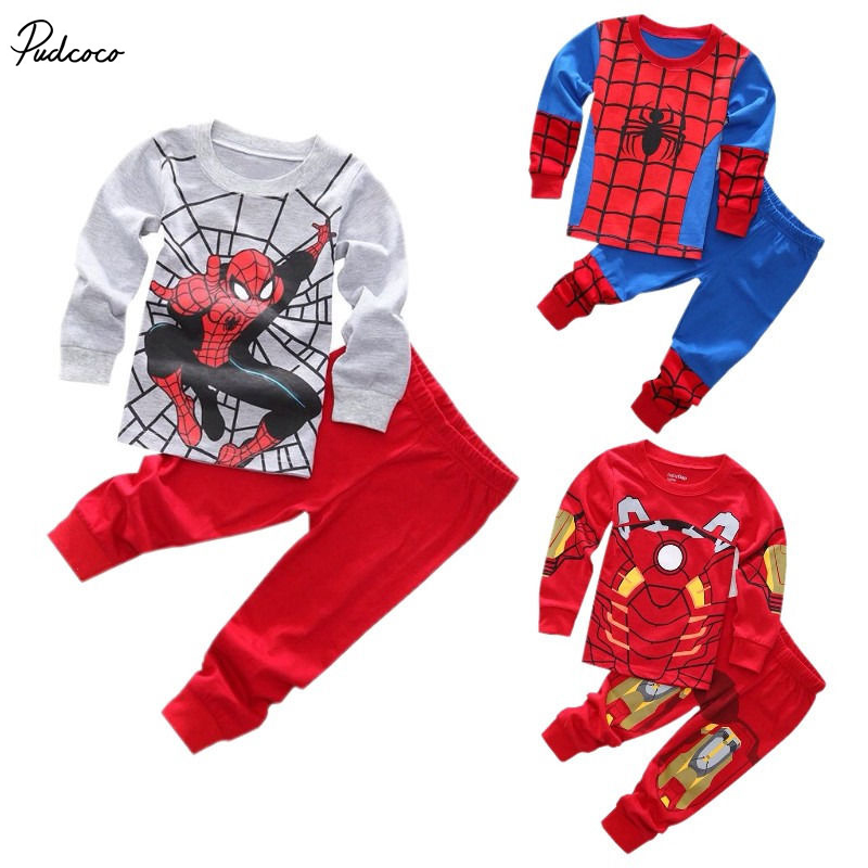 2017 Spring new children's Set clothing spider man costume spiderman suit spider-man costume Children's Sets цены онлайн