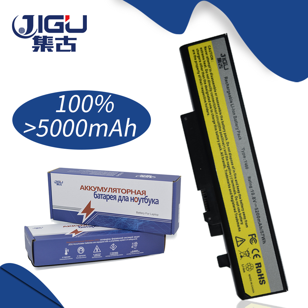 JIGU 5200MAH Laptop Battery 57Y6440 57Y6567 57Y6568 L09S6D16 L10L6Y01 L10N6Y01 L10S6Y01 For Lenovo For Ideapad B560 V560 Y460 цена и фото