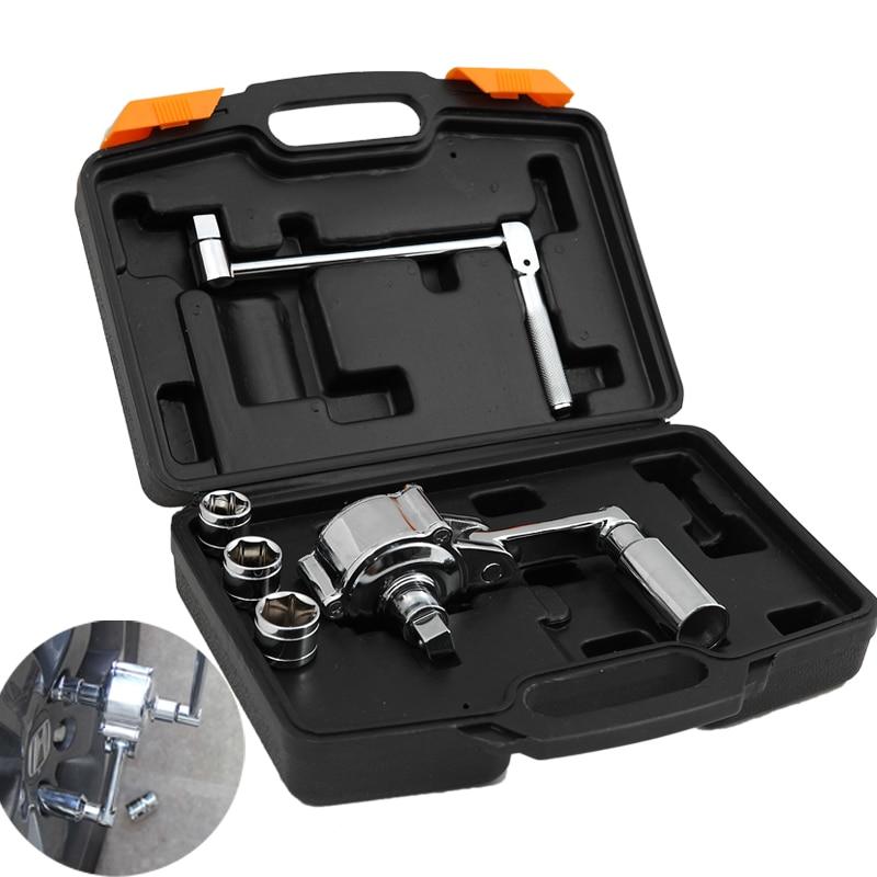 New Torque Multiplier Wheel Nut Cracker Power Wrench Tool Car Tyre Torque free shipping цена