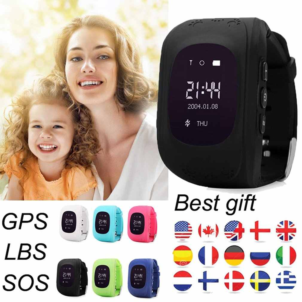 Q50 GPS Smart Kid Watch Wristwatch Q60 SOS Call Location Finder Locator Anti-Lost Kids Baby Watch for IOS Android