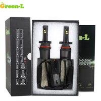 Green L D2S H1 H3 H4 H7 H11 9007 880 9004 9005 9006 Auto Car Led